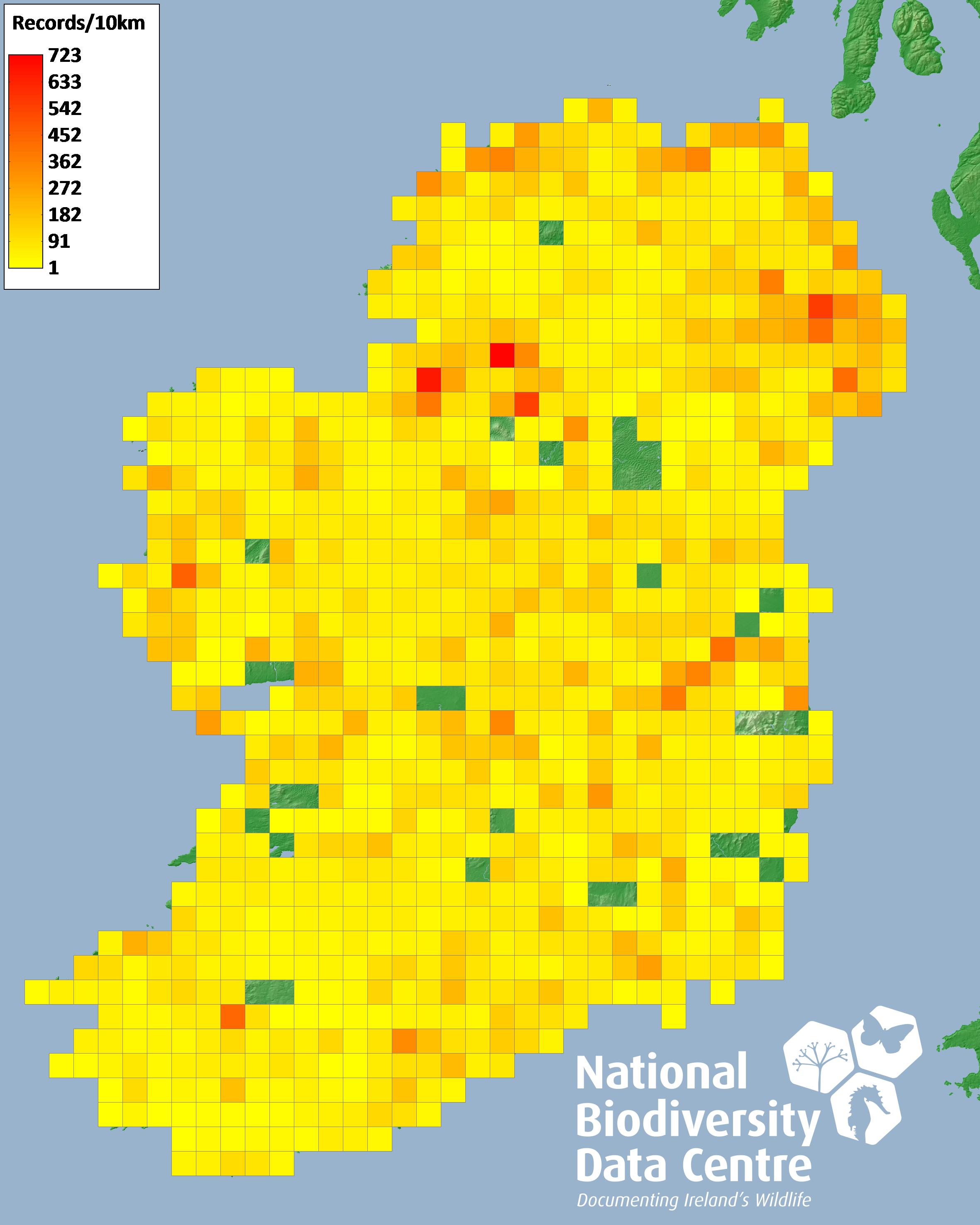 All Ireland Non Marine Molluscan Database